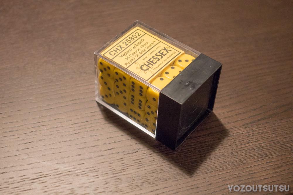 CHESSEX 12mmダイス
