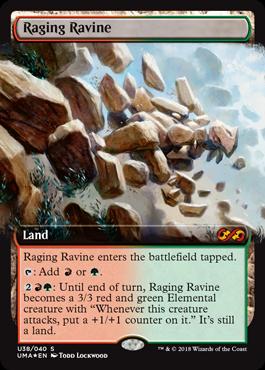 怒り狂う山峡/Raging Ravineのボックストッパー拡張アート