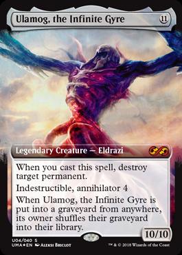 無限に廻るもの、ウラモグ/Ulamog, the Infinite Gyreのボックストッパー拡張アート