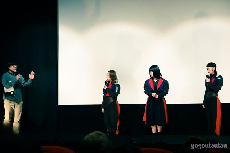 世界でいちばん悲しいオーディション舞台挨拶@テアトル新宿
